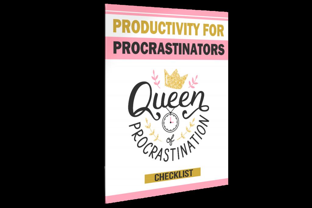 Productivity for Procrastinators